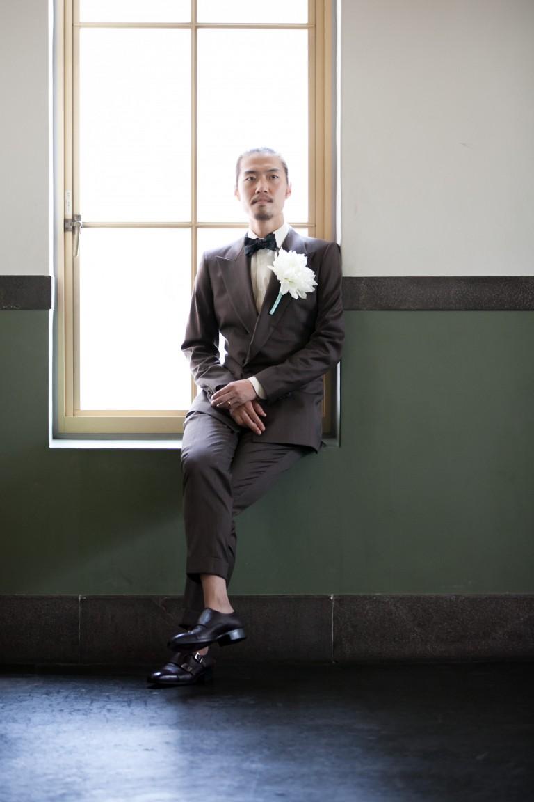 豊橋で結婚式、新郎スーツ、タキシードをお考えならば当店まで